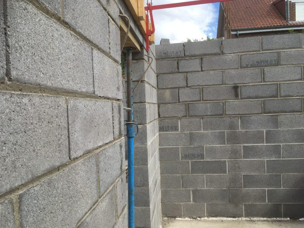 mur parpaing