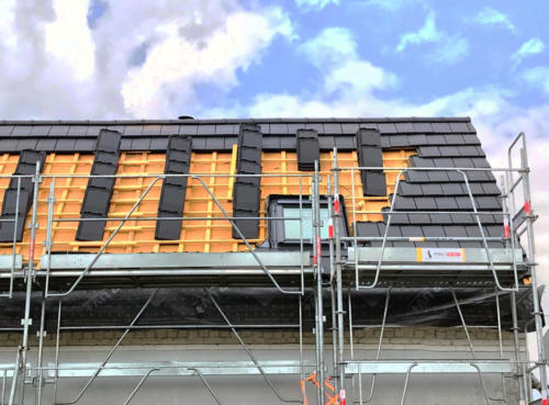 Rénovation d'une toiture complète